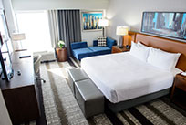 Club Level King Room at Crowne Plaza Dulles Airport Hotel