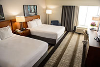 Crowne Plaza Dulles Airport - Herndon, Virginia Hotel Club Level Double Queen Room