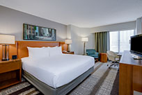 Crowne Plaza Dulles Airport Hotel King Bed Room